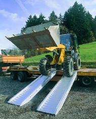 Auffahrschinen 3300 kg Belastung  mieten leihen