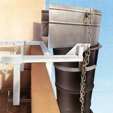 Fensterbefestigung für Schuttruschensystem mieten leihen