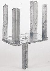 Kopf f. Schalungsstütze, mit Eckwinkeln, verzinkt, passend für Schalungsträger H 20 mieten leihen