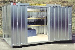 Material-Container 4 m mieten leihen