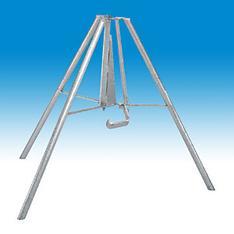 Dreifußständer für Stahlrohrstütze mieten leihen