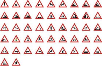 Verkehrszeichen Dreieck Schenkellänge 900 mm mieten leihen